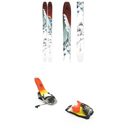 Atomic Bent Chetler 120 Skis ​+ Look Pivot 14 GW Ski Bindings 2021