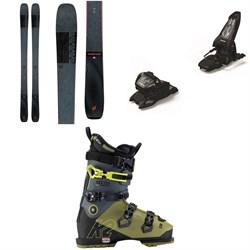 K2 Mindbender 99Ti Skis + Marker Griffon 13 ID Ski Bindings + K2 Recon 120 MV GW Ski Boots 2021