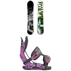 Lib Tech Skunk Ape HP C2 Snowboard ​+ Flow NX2 Fusion Snowboard Bindings
