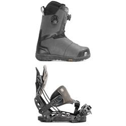 Nidecker Helios Focus Boa Snowboard Boots + Flow NX2-GT Hybrid Snowboard Bindings