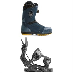 Nidecker Triton Focus Boa Snowboard Boots ​+ Flow Fuse Fusion Snowboard Bindings 2020