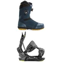 Nidecker Triton Focus Boa Snowboard Boots + Flow Fenix Snowboard Bindings 2020