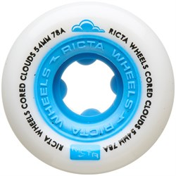Ricta Cored Clouds Blue 78a Skateboard Wheels