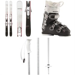 Rossignol Black Ops Dreamer Skis ​+ Xpress 10 GW Bindings ​+ Kelia 50 Ski Boots - Women's 2021 ​+ evo Double-E Ski Poles 2020