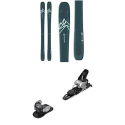 Salomon QST Lux 92 Skis - Women's + Warden MNC 11 Ski Bindings 2021