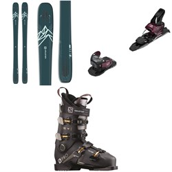 Salomon QST Lux 92 Skis - Women's + Warden MNC 11 Ski Bindings + S/Pro 90 W Ski Boots - Women's 2021