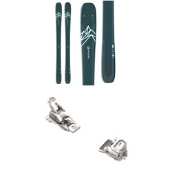 Salomon QST Lux 92 Skis - Women's + Tyrolia Attack² 12 GW Bindings 2021