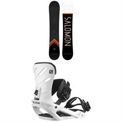 Salomon Sight X Snowboard + Rhythm Snowboard Bindings 2021