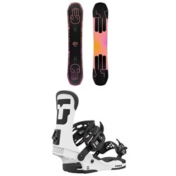 Bataleon Evil Twin Snowboard + Union Force Snowboard Bindings 2021