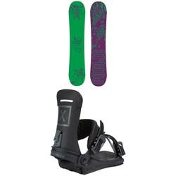 Public Snowboards Disorder Sexton Snowboard + Fix Yale Ltd Snowboard Bindings 2021