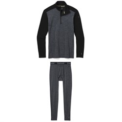 Smartwool Merino 250 Baselayer Pattern 1​/4 Zip Neck Top ​+ Bottoms