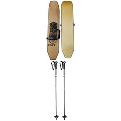 Drift Oxygen Boards ​+ Spark R&D x Black Diamond Compactor Splitboard Poles