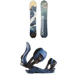 Rossignol XV Snowboard + XV Snowboard Bindings 2021