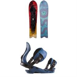 Rossignol XV Sushi LF Snowboard + XV Snowboard Bindings 2021