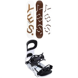 Yes. Basic Snowboard ​+ Bent Metal Joint Snowboard Bindings