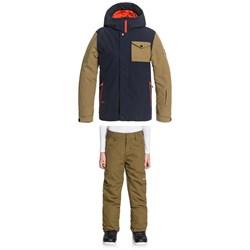 Quiksilver Ridge Jacket + Estate Pants - Boys'