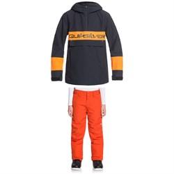 Quiksilver Steeze Jacket + Estate Pants - Boys'