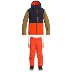 Quiksilver Side Hit Jacket + Estate Pants - Boys'