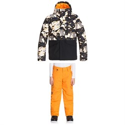 Quiksilver Mission Block Jacket ​+ Porter Pants - Boys'