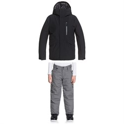 Quiksilver Mission Solid Jacket ​+ Porter Pants - Boys'