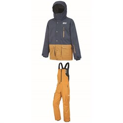 Picture Organic Marcus Jacket - Boys' ​+ August Bibs - Kids'