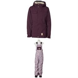 Rojo Outerwear Grace Jacket + Limelight Bibs - Girls'
