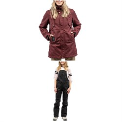 L1 Ashland Jacket ​+ Loretta Overall Bibs - Women's