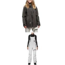 L1 Nightwave Jacket + Sao Bibs - Women's