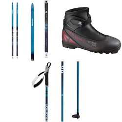 Salomon Snowscape 7 Vitane Classic Cross Country Skis ​+ Prolink Auto Bindings - Women's ​+ Vitane Plus Prolink Boots - Women's ​+ Escape Vitane Poles - Women's 2021