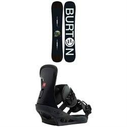 Burton Instigator Snowboard  + Freestyle Snowboard Bindings 2019