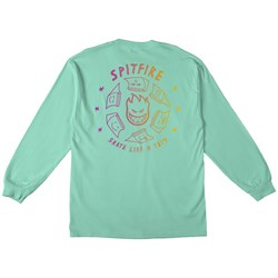Spitfire Skate Like A Girl Fade Long-Sleeve T-Shirt