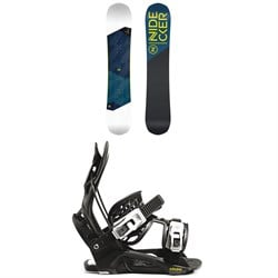 Nidecker Merc Snowboard ​+ Flow Micron Youth Snowboard Bindings - Kids' 2021