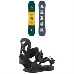 Arbor Helix Snowboard + Union Cadet Pro Snowboard Bindings - Kids' 2021