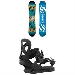 Jones Prodigy Snowboard + Union Cadet Pro Snowboard Bindings - Kids' 2021