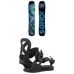 Jones Flagship Snowboard + Union Cadet Pro Snowboard Bindings - Kids' 2021