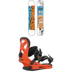 GNU Young Money C2E Snowboard + Union Cadet Pro Snowboard Bindings - Kids' 2021