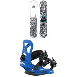 Lib Tech Banana Blaster BTX Snowboard + Union Cadet XS Snowboard Bindings - Little Kids' 2021
