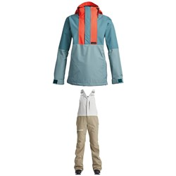 Airblaster Trenchover Jacket ​+ Hot Bibs - Women's