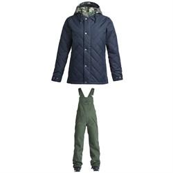 Airblaster Work Jacket + Freedom Bib Pants - Women's