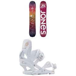 Jones Dream Catcher Snowboard + Now Vetta Snowboard Bindings - Women's 2021