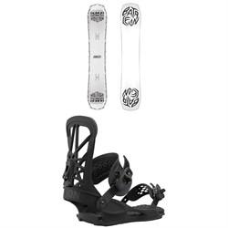 Bataleon Disaster Snowboard + Union Flite Pro Snowboard Bindings 2021