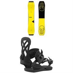 Bataleon Wallie Snowboard + Union Contact Pro Snowboard Bindings 2021