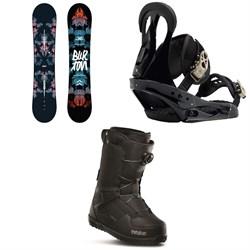 Burton Stylus Snowboard  + Citizen Snowboard Bindings 2019 + thirtytwo Shifty Boa Snowboard Boots - Women's
