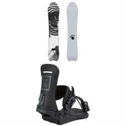 Slash Vertical Snowboard ​+ Fix Yale Ltd Snowboard Bindings 2021