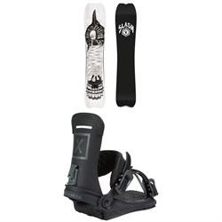 Slash Portal Snowboard ​+ Fix Yale Ltd Snowboard Bindings 2021