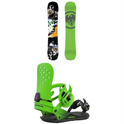 Never Summer Proto Slinger Snowboard ​+ Union Strata Snowboard Bindings 2021