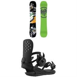 Never Summer Proto Slinger Snowboard + Union Strata Snowboard Bindings 2021