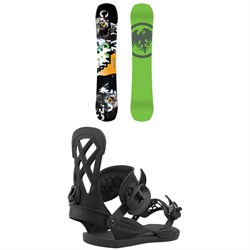Never Summer Proto Slinger Snowboard ​+ Union Contact Pro Snowboard Bindings 2021