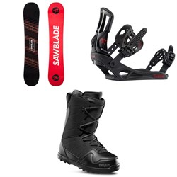 Rossignol Sawblade Snowboard 2020 ​+ Battle Snowboard Bindings  ​+ thirtytwo Exit Snowboard Boots 2020