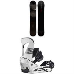 Salomon Super 8 Pro Snowboard + Hologram Snowboard Bindings 2021